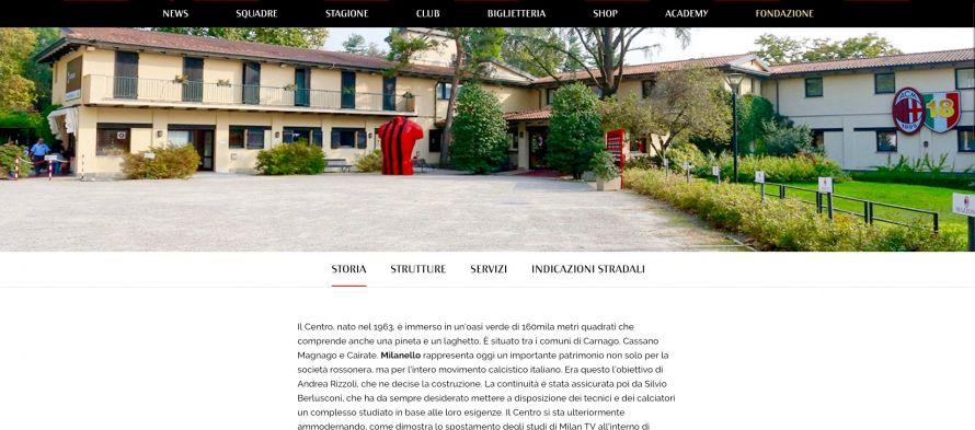 AC Milan Centro Sportivo Milanello